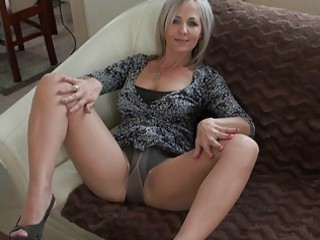 handsome albino momma inside nylons does
