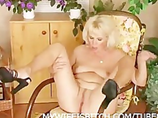 masturbating mature