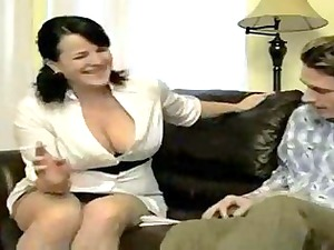 awesome horny smoking mom copulates soninlaw