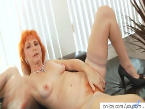 redhead mom sex toys furry kitty