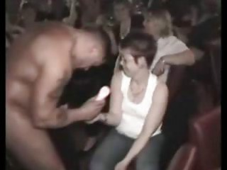 cfnm celebration with busty mature babes