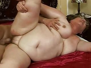 ugly fat elderly gets gangbanged beautiful hard