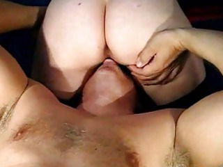 cougar pair sperm eating