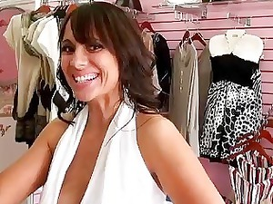 awesome busty milf alexis giovanni picked up