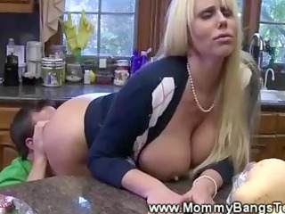 mouth dining room  please for busty woman from