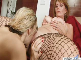 inexperienced older  homosexual women twin sex toy
