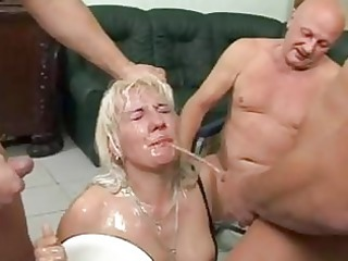 this grownup whore worships to own pissed on the